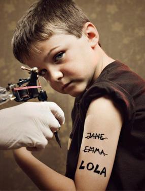 Borttagning av tatuering